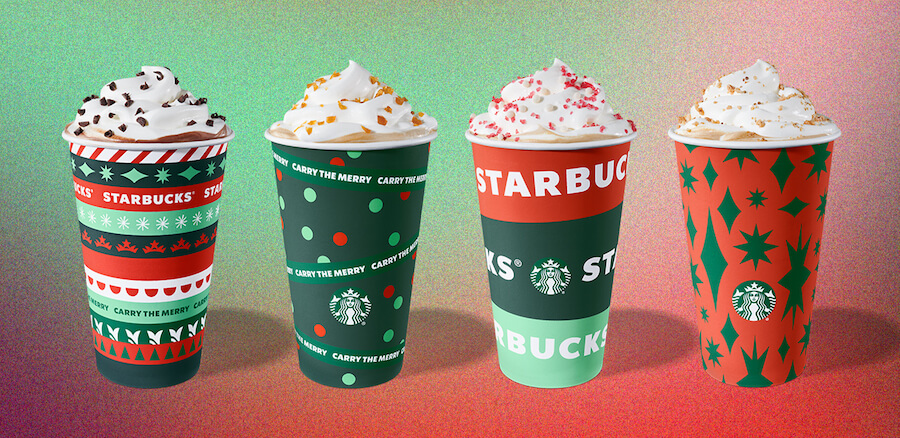 Get into the holiday spirit and relieve some stress by indulging in a holiday drink or dessert.