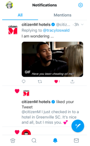citizenM Social Exchange