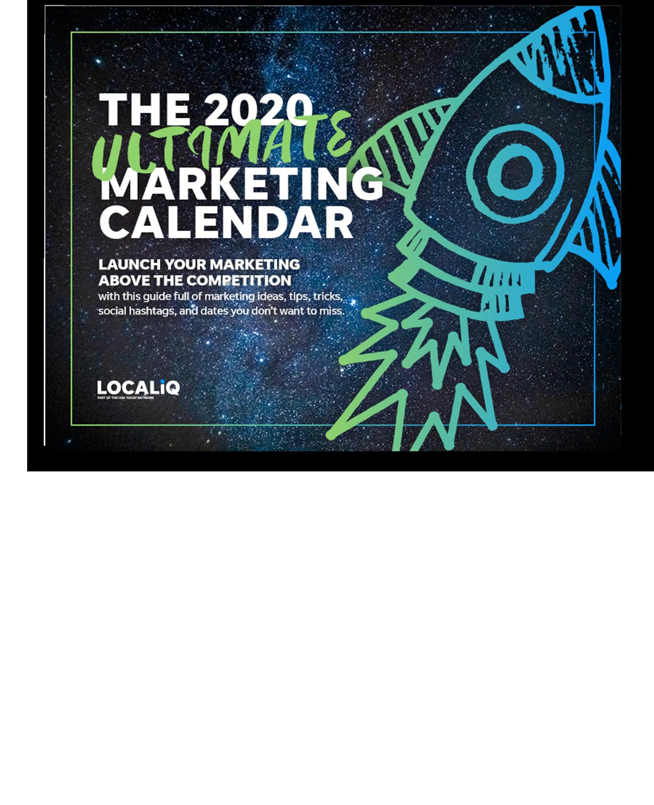 The 2020 Ultimate Marketing Calendar
