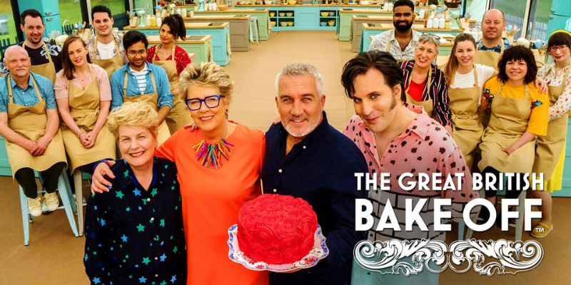 Poster for Great British Bake Off - Photo from Amazon.UK