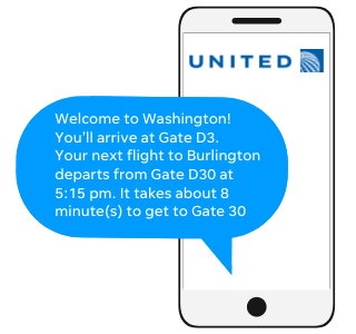 Text Mock Up from United