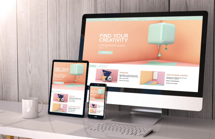 SEO Website Design - Create a mobile-friendly site that looks good across all devices