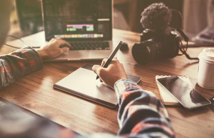Part of the upfront costs of YouTube advertising include creating a video, which entails a script, production, editing, and more.