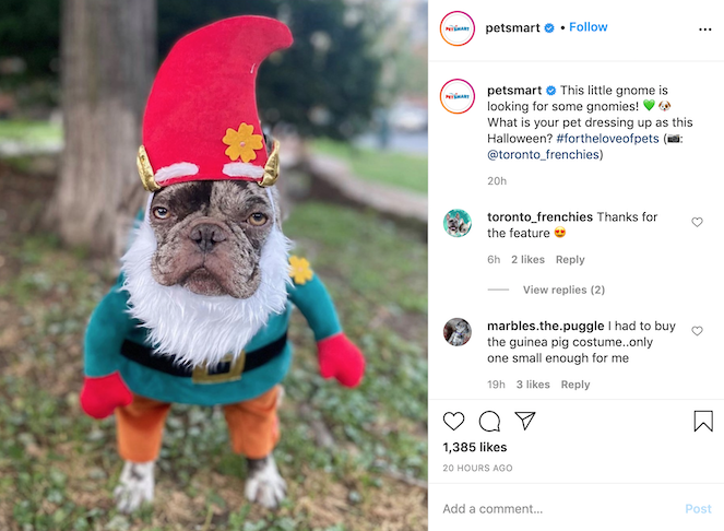 Offer a dress-up promotion and share user-generated content to your social sites.