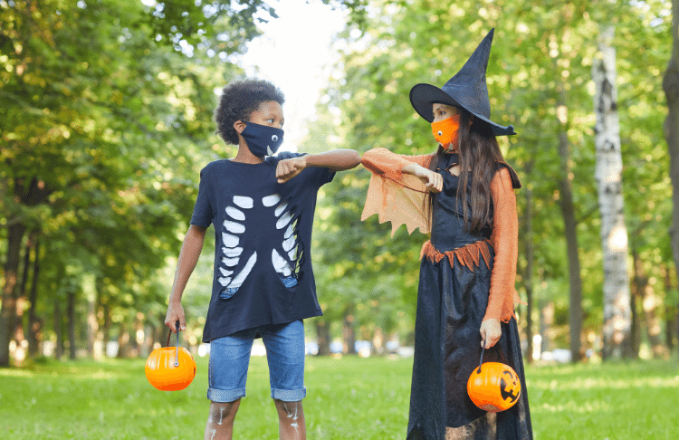 Participating in trick-or-treating is a great halloween promotion for your business.