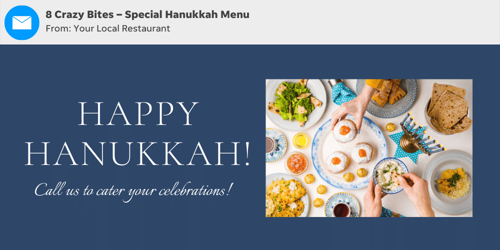 Use these Hanukkah subject line ideas for your holiday email marketing campaigns.