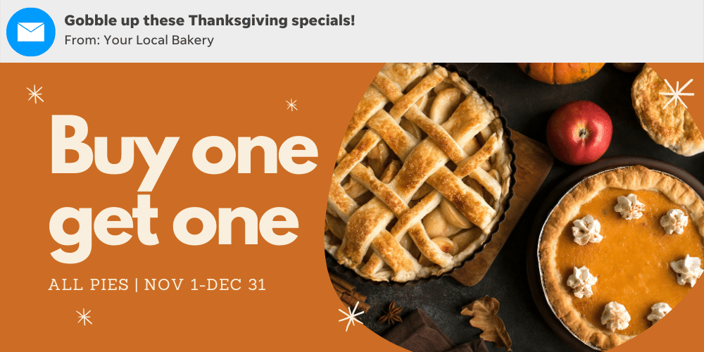 Use these thanksgiving subject line examples to get more customers from your email marketing campaigns.