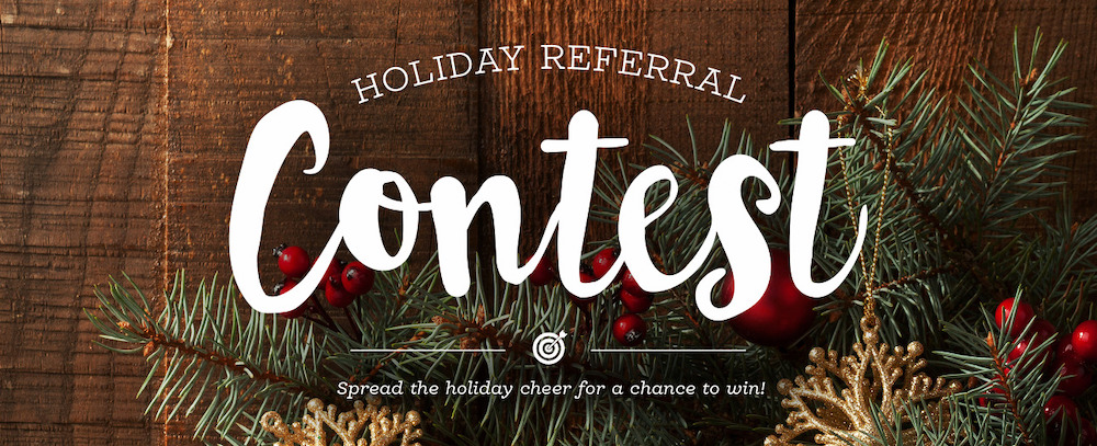 Zazzle held a holiday referral contest to get people to subscribe to their blog.