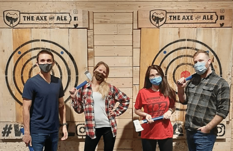 The Axe And Ale opened their doors during the pandemic and worked with LOCALiQ to make sure their marketing contributed to a healthy opening.