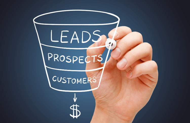 Your sales funnel template should allow you to walk leads through the funnel so they become paying customers.