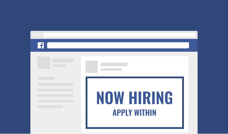 Facebook recruiting is an important part of a healthy recruitment marketing strategy.