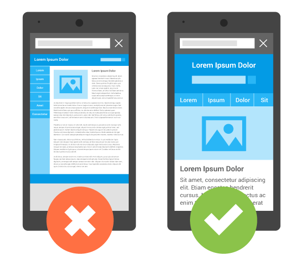 Good business websites must be mobile-friendly so it's easy for users and Google to navigate them.