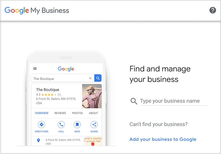 Setting up and optimizing your Google My Business profile is an important way to show up on the Google local 3 pack.