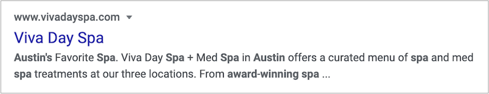 You can update your meta data to reflect your award-winning status to promote your award.