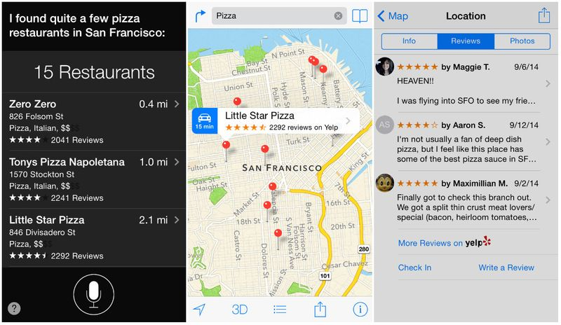 Yelp powers many apps and sites that people use and aggregates data and reviews, which is why it's so important for small businesses.