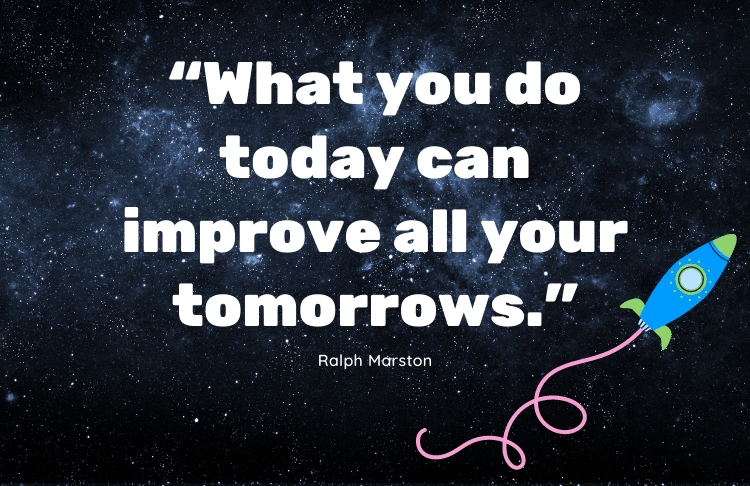 This quote from Ralph Marston can inspire small business owners to take action!