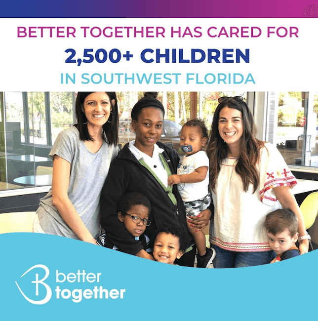 Better Together Keeping families together by offering support and preventative services that empower the whole person and the entire family.