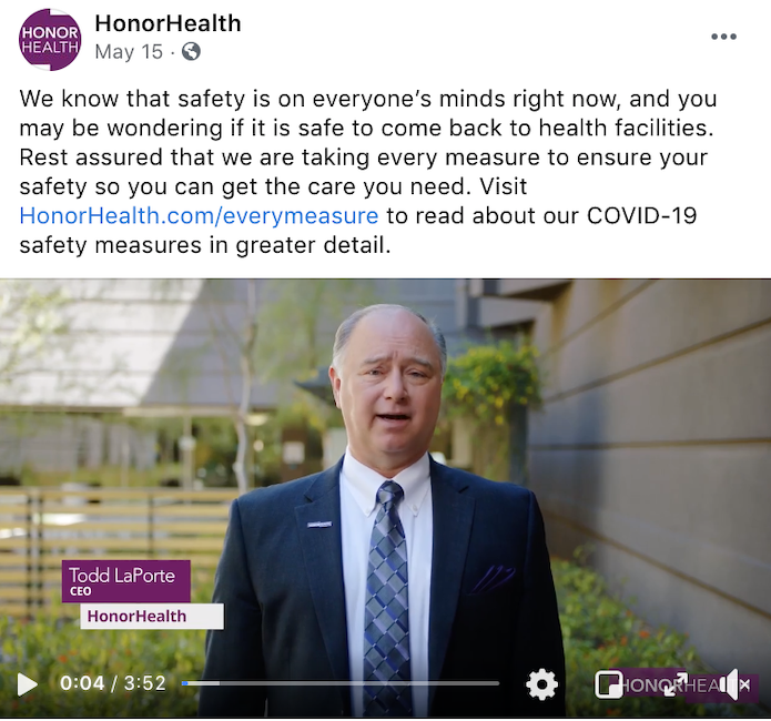 Communicating how you're keeping patients safe will continue to be important to your 2021 healthcare marketing.