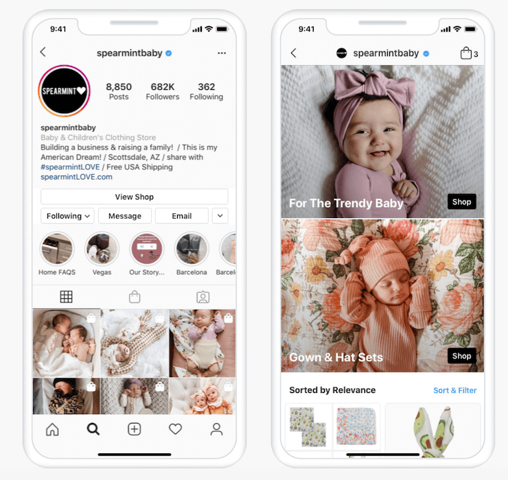 Instagram Shops is a 2021 instagram trend to try this year.